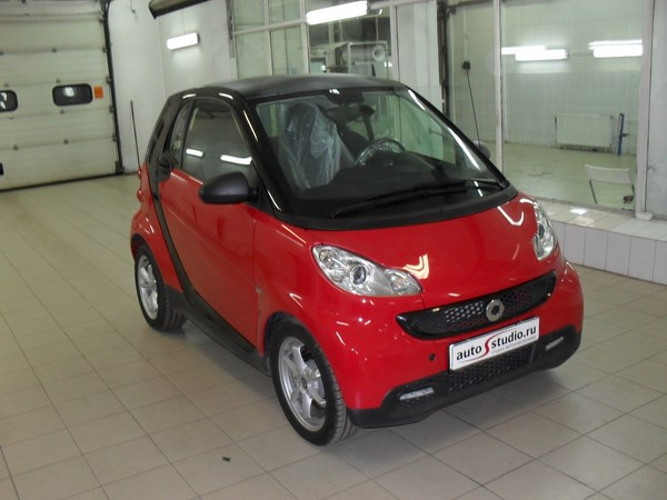 ��������� ��������-�������� ������� �� Smart Fortwo