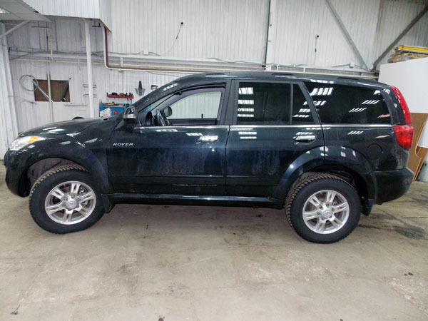 ��������� ��������� ��������� �� Great wall Hover H5