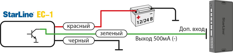 0 StarLine EC-1 бесконтактный сенсор: 1