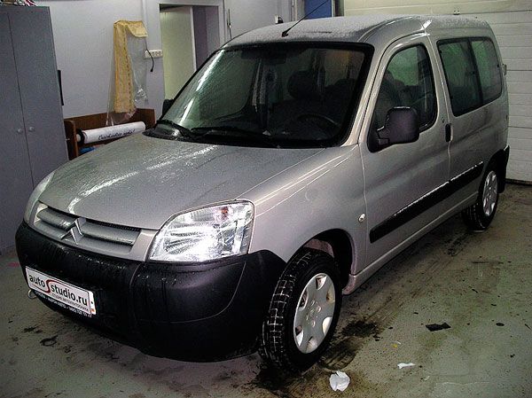 ��������� ��������������� ������������ � �������� �� Citroen Berlingo