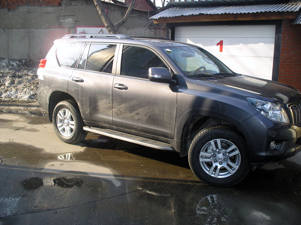 ����������� ������ � ��������� ��������� ��������� �� Toyota Land Cruiser Prado 150