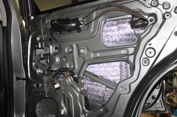 Комплексная вибро-шумоизоляция Nissan X-Trail