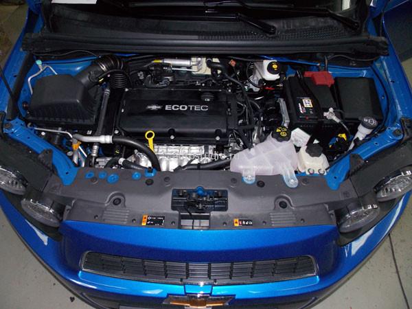 На автомобиль установлена сигнализация.  04.09.2012. Коробка передач: автоматическая.  Chevrolet Aveo.